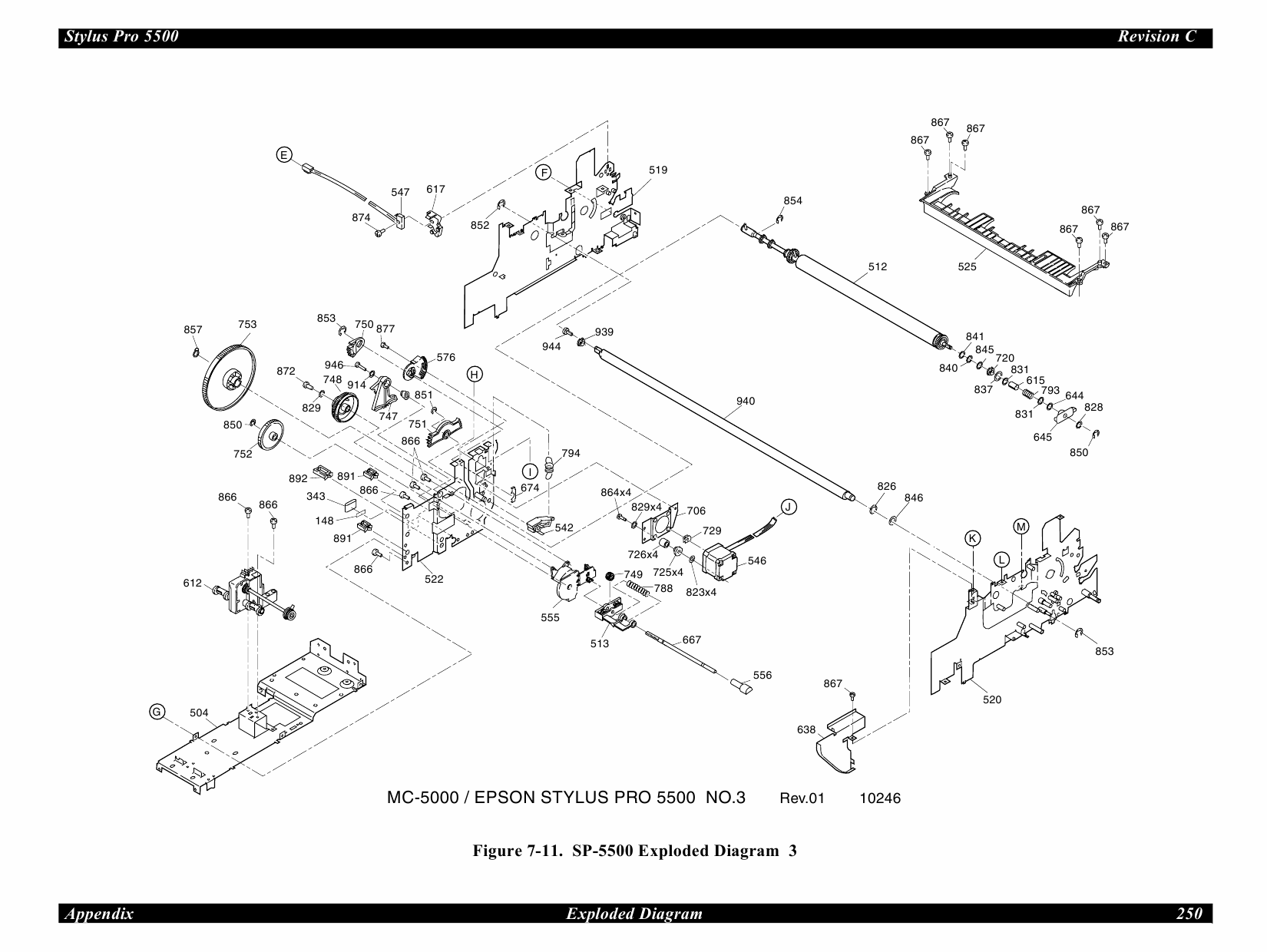 EPSON StylusPro 5500 Parts Manual-6